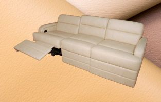 Marine Sofa w/ Incliners