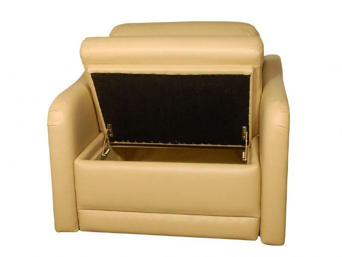 Companion 30sb Storage Chair Glastop Marine Furniture