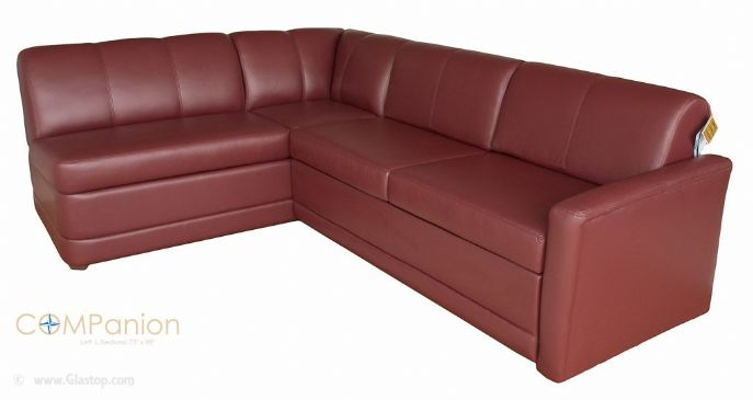 COMPanion 73 x 98 Left L Sectional w/ Bed