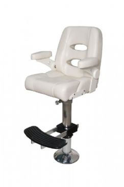 Mariner All Weather Bolster Helm Chair