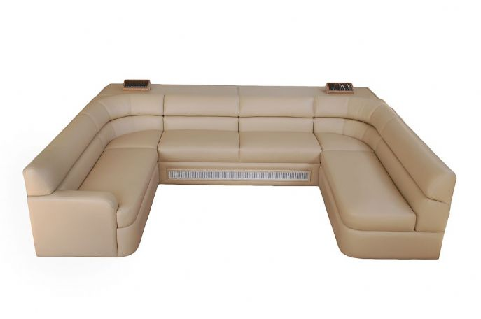 Elite Custom 87 x 136 U Sectional