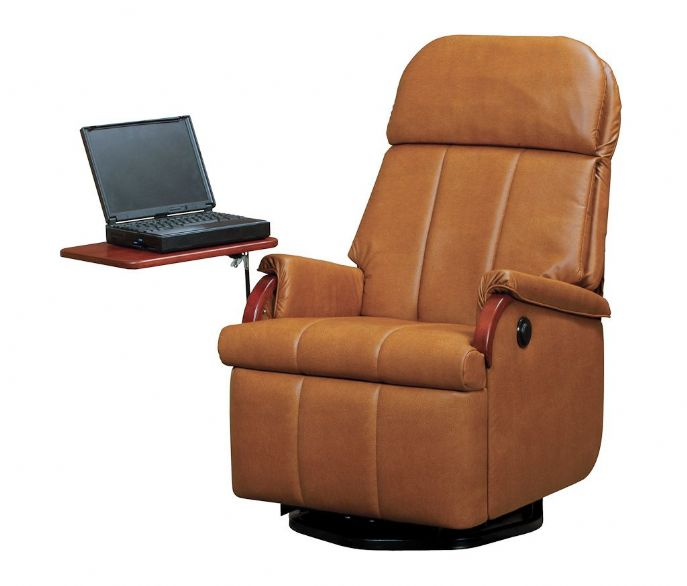 Lambright lazy relaxor power recliner glastop inc - Reclining chairs for small spaces plan ...
