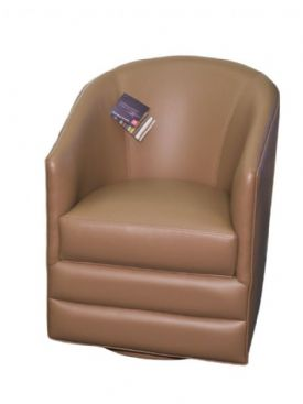 MAR-23BL Swivel Barrel Chair
