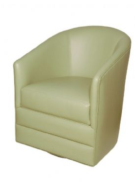 MAR-25BL Swivel Barrel Chair