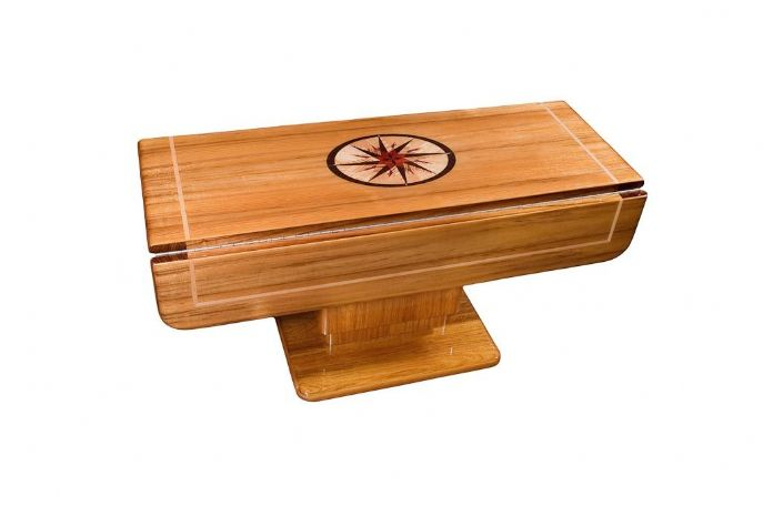 Mariner MAR Custom Hi-Lo Marine Teak Table
