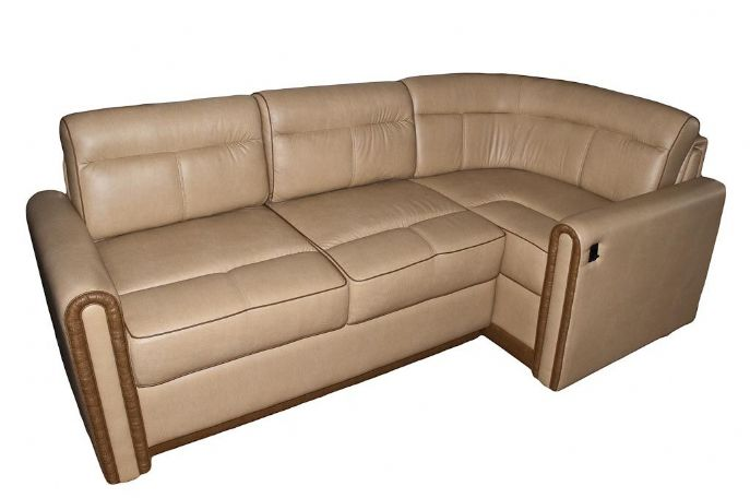 Villa extending l sectional glastop inc for Rv furniture