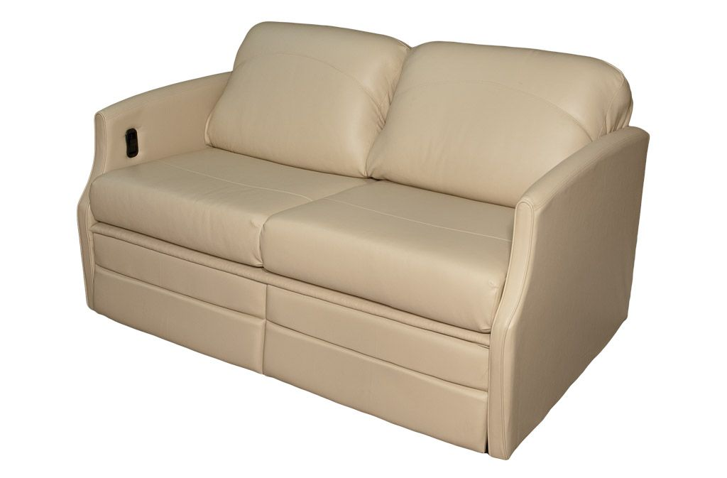 Flexsteel 4615 sleeper sofa w dual footrests glastop inc for Rv furniture