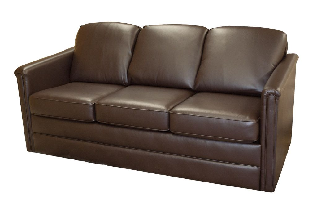 Flexsteel cropley 4893 convertible sofa sleeper glastop inc for Rv furniture