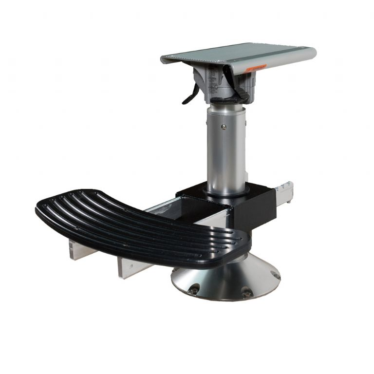 3.5 in Pedestal w/ Swivel Slide Top Plate