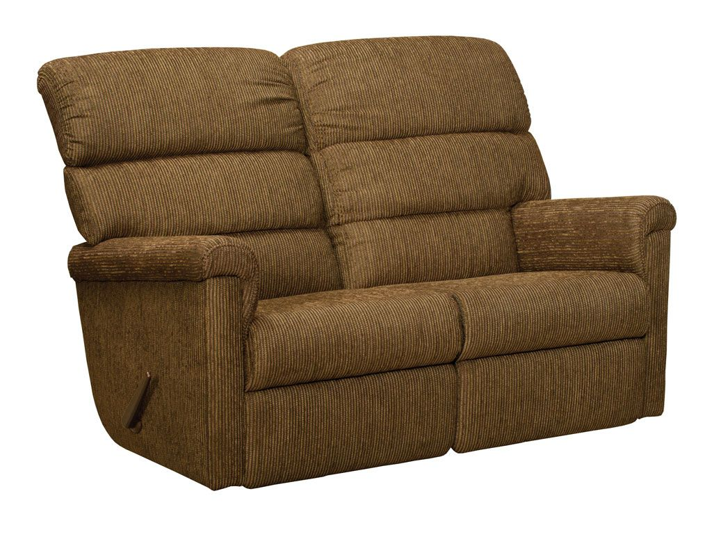 Lane Furniture Leather Recliners Lambright Heritage Loveseat Recliner, Glastop Inc.