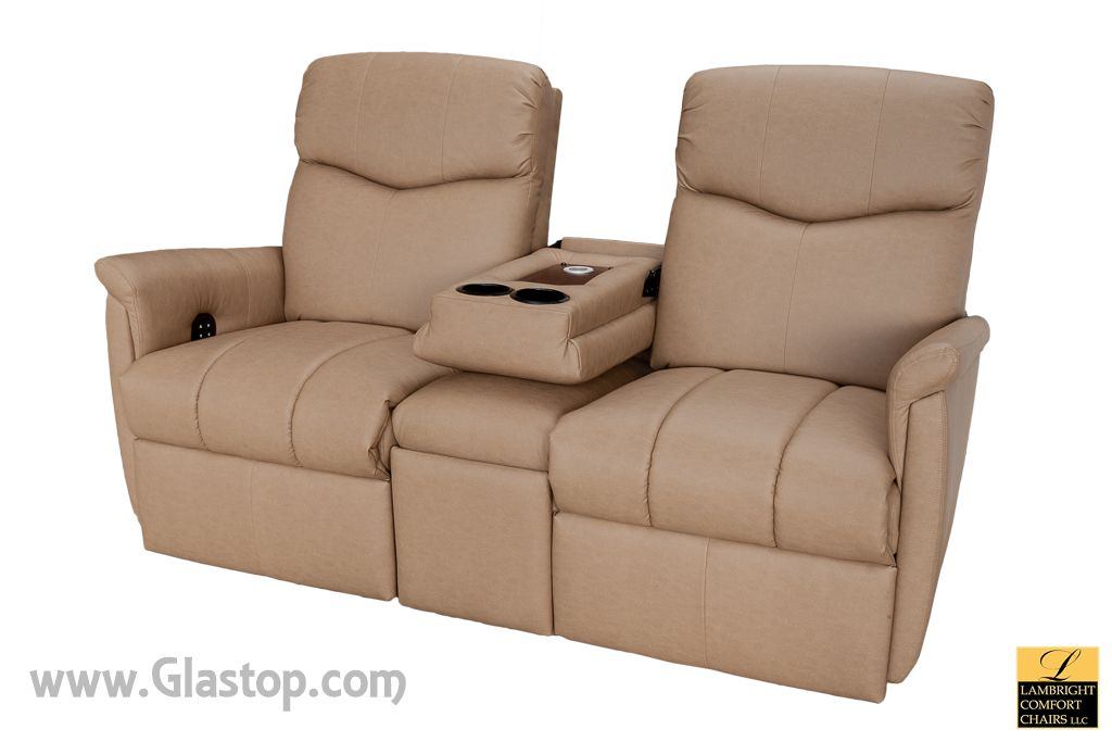Lambright Luxe Theater Seating Glastop Inc