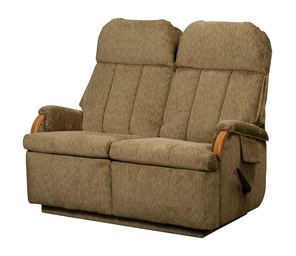 Lambright relaxor loveseat recliner glastop inc Reclining loveseat sale