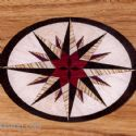 Compass Rose Inlay
