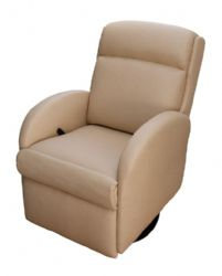 Lambright Lazy Lounger Small Recliner  sc 1 st  Glastop RV and Marine Furniture : small swivel recliner for rv - islam-shia.org