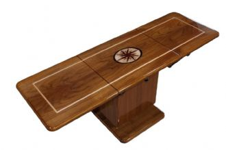 Mariner MAR 1648 Hi-Lo Marine Teak Table